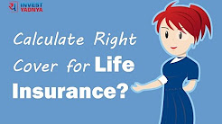 How to calculate right life insurance cover | Investment Tips by Yadnya