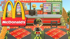 JE CONSTRUIS un MCDO dans ANIMAL CROSSING NEW HORIZONS !