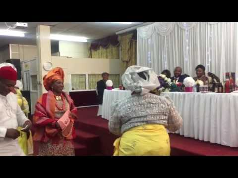 Dj King Parties - Don Jazzy mom perform Live