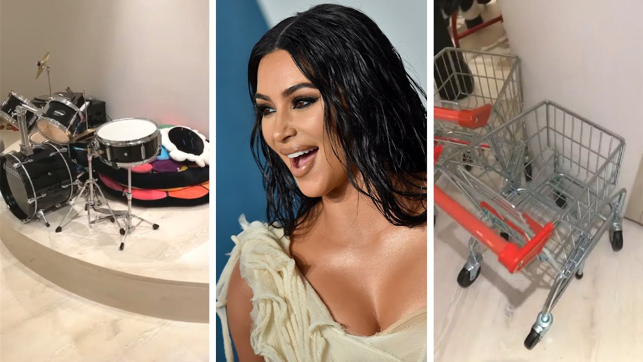 Kim Kardashian Shows Off Her Kids' EPIC Playroom