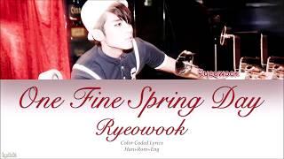 Super Junior Ryeowook - One Fine Spring Day