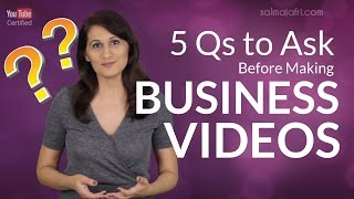 5 Questions to Build a Video Content Strategy