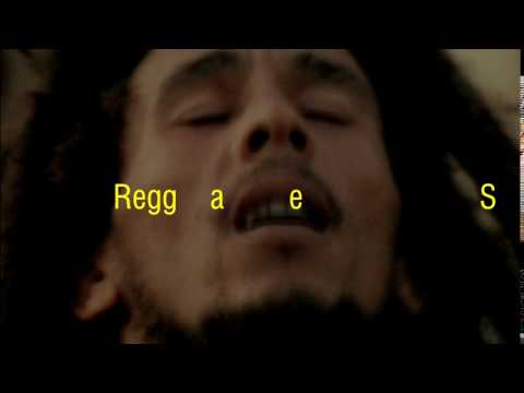 Reggae star Bob Marley