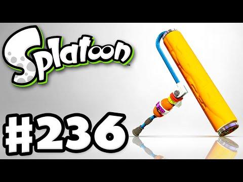 Splatoon - Gameplay Walkthrough Part 236 - CoroCoro Splat Roller! (Nintendo Wii U)