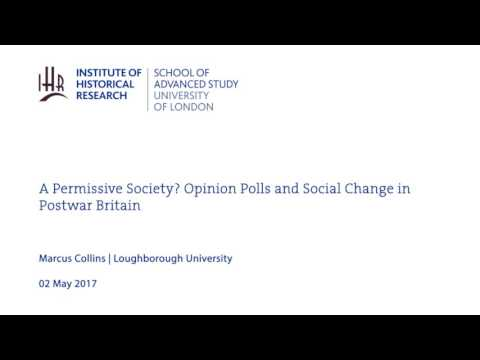 A Permissive Society? Opinion Polls and Social Change in Postwar Britain