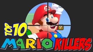 Top10 Mario Killers - Os Maiores Inimigos do Mario