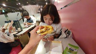 日本麥當勞限定的月見漢堡好吃嗎?|逛逛阪急三番街