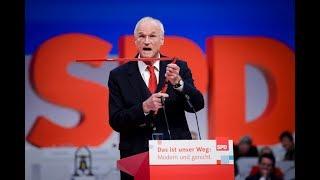 Lothar Binding beim SPD-Parteitag