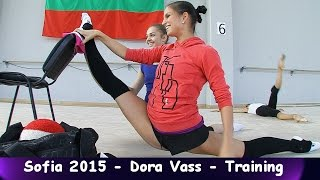 Dora Vass - Training World Cup Sofia 2015