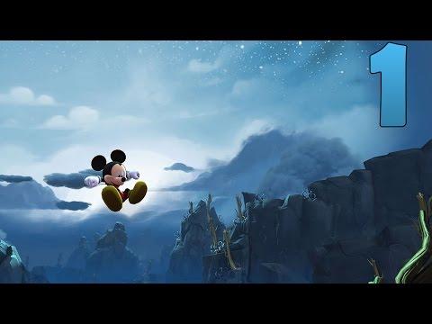 Zagrajmy w Castle of Illusion HD odc.1 Zaczarowany Las