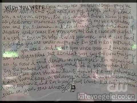 Kate Voegele - Wish You Were (Target Bonus Acousti