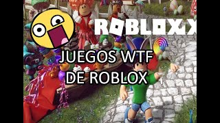 ROBLOX'S MORE WTF GAMES (WITH LOQUENDO)