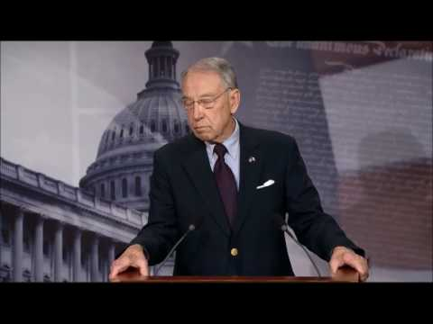 Grassley Holds Press Conference After Gorsuch Confirmation
