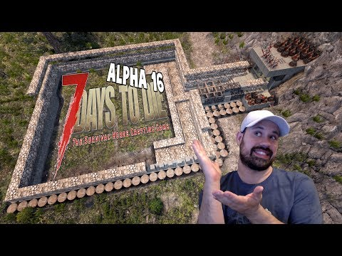 ALPHA 16 Too Many Zombies | 7 Days To Die Alpha 16 Let's Play Gameplay PC | E19