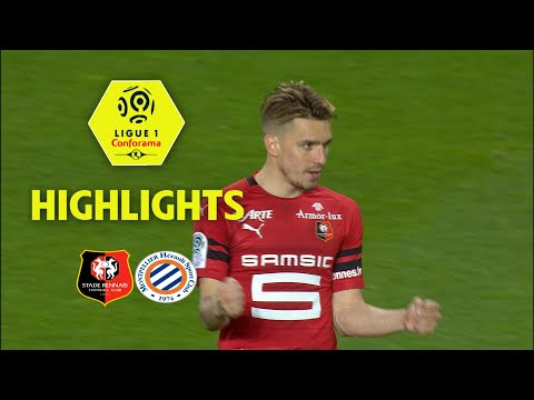 Stade Rennais FC - Montpellier Hérault SC ( 1-1 ) - Highlights - (SRFC - MHSC) / 2017-18