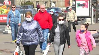 В Белоруссии скорость распространения коронавируса резко увеличилась