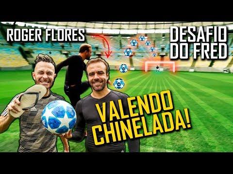 Desafio do Travessão do meio campo com Roger Flores thumbnail