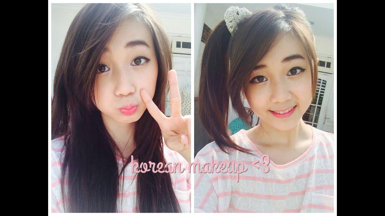 Make up Indonesia : Makeup cewek korea?