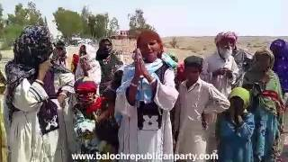 Pakistani forces abduct Baloch women and children for protesting against abduction of family members