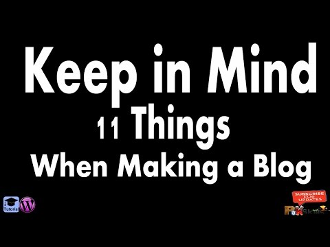 11 Things Make Your Performance Best in Blogging