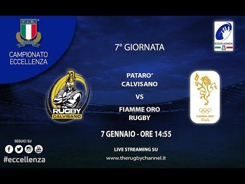 RUGBY CALVISANO vs FIAMME ORO R. ROMA Eccellenza 7a Giornata 2016/17