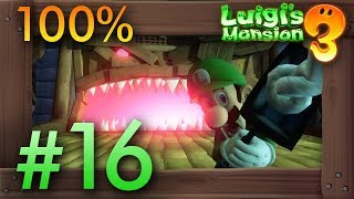 Luigi's Mansion 3: 100% Walkthrough Part 16 - The Spectral Catch (F12) & Rescuing Yellow Toad