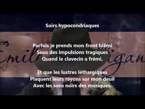 Soirs hypocondriaques - Émile Nelligan lu par Yvon Jean