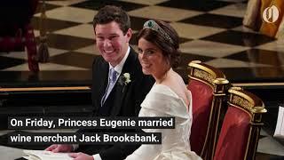Princess Eugenie weds Jack Brooksbank at Windsor Castle