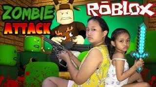 Zombie Attack   Roblox Tagalog Gameplay (Ang Daming Zombie)