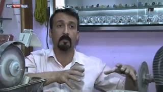 العراق.. تهافت على الأحجار الكريمة للحظ والرزق