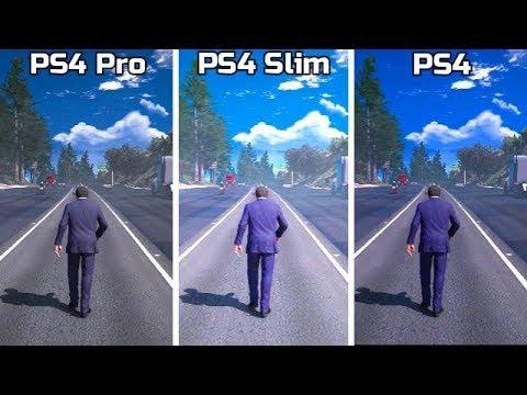 PS4 Pro VS