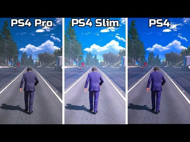 Ps4 Pro Vs Ps4 Slim Vs Ps4 4k Graphics Comparison Ft Pubg Gta 5 God Of War 4 Fifa 19 Fortnite Youtube