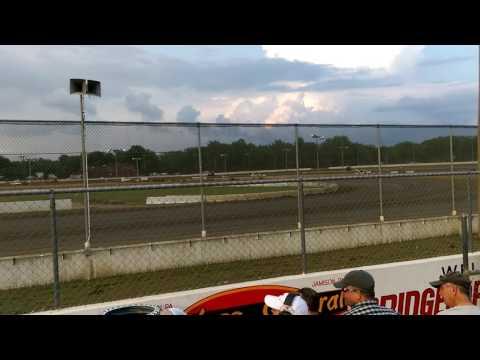 Dean Conk Jr bridgeport speedway 1st heat sprint car