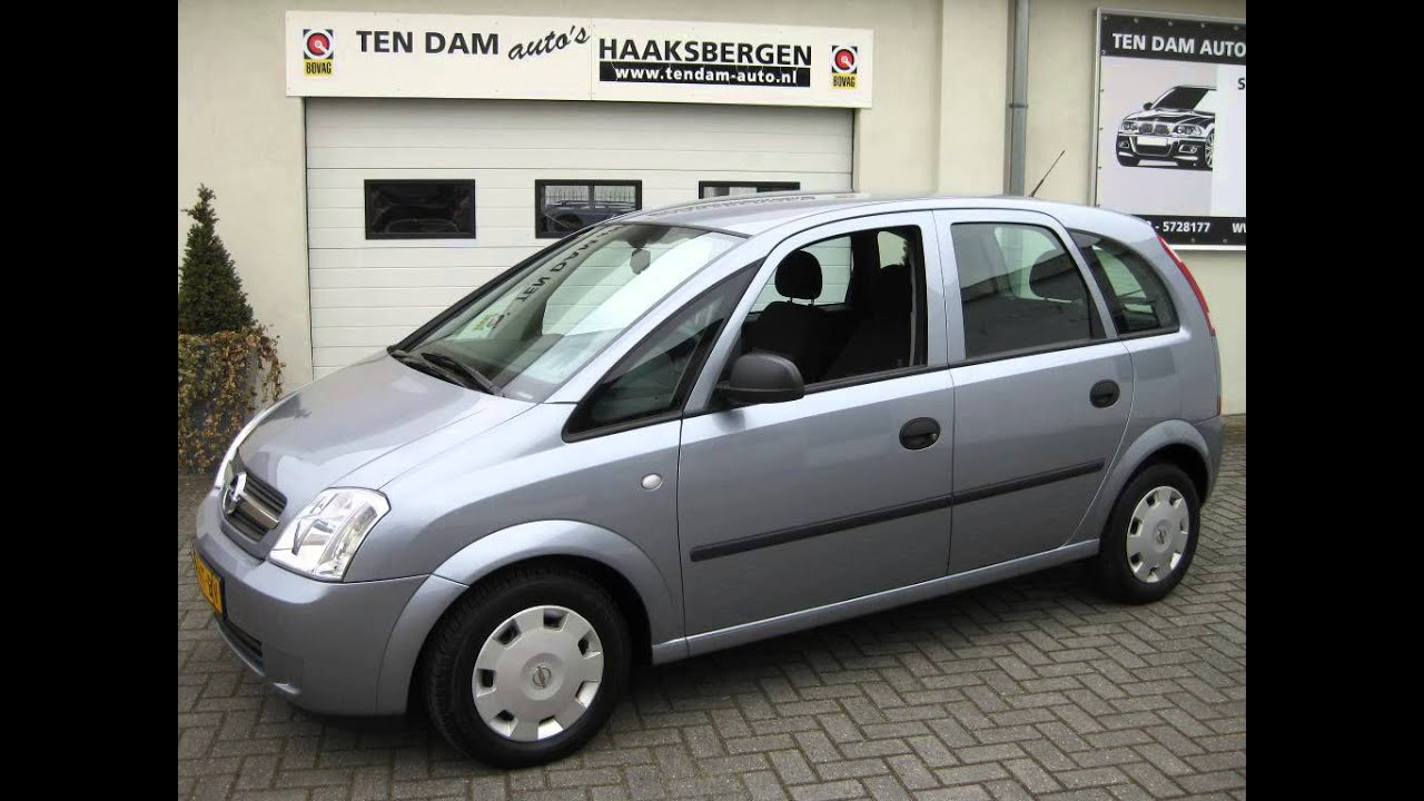 opel meriva essentia cruise control 2004 ten dam auto 39 s haaksbergen bovag autobedrijf youtube. Black Bedroom Furniture Sets. Home Design Ideas