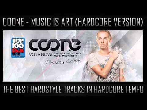 Coone - Music Is Art (Hardcore Version)