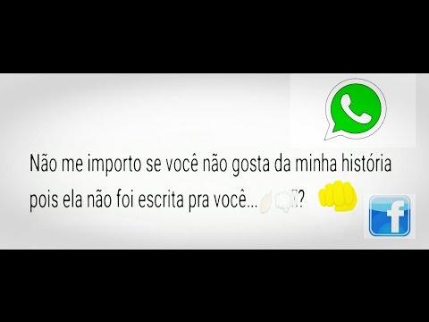 Frases De Indiretas Para Status Do Whatsapp E Facebook