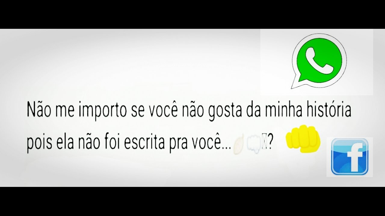 Frases De Indiretas Para Status Do Whatsapp E Facebook Youtube