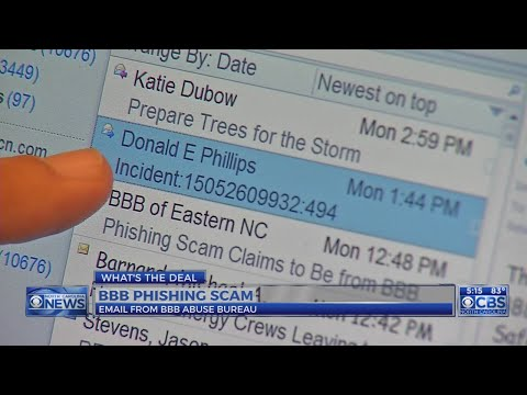 BBB warns of 'abuse bureau' scam