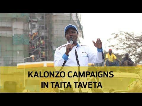 Kalonzo campaigns in Taita Taveta