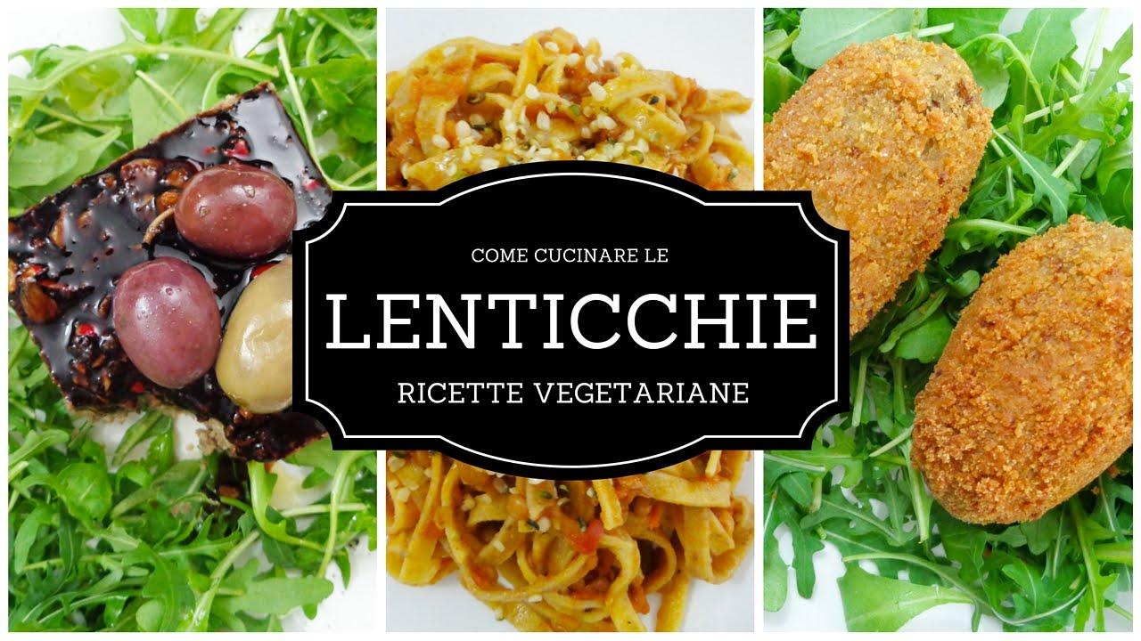Come cucinare le lenticchie mattonella ai funghi rag di lenticchia crocchette ricette - Cucinare le lenticchie ...