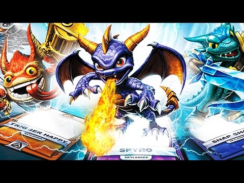 Skylanders Battlecast Gameplay - MONSTERS COME TO LIFE!! (Gameplay + Unboxing)