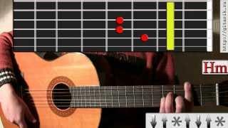 Cплин - Орбит без сахара, (урок на гитаре)
