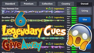 8 Ball Pool - Get Free Legendary Cues!!   Limited Time Only [No Hacks/Cheats]