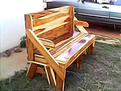 Banco que vira mesa feito da madeira teca youtube - Mesa de teca ...