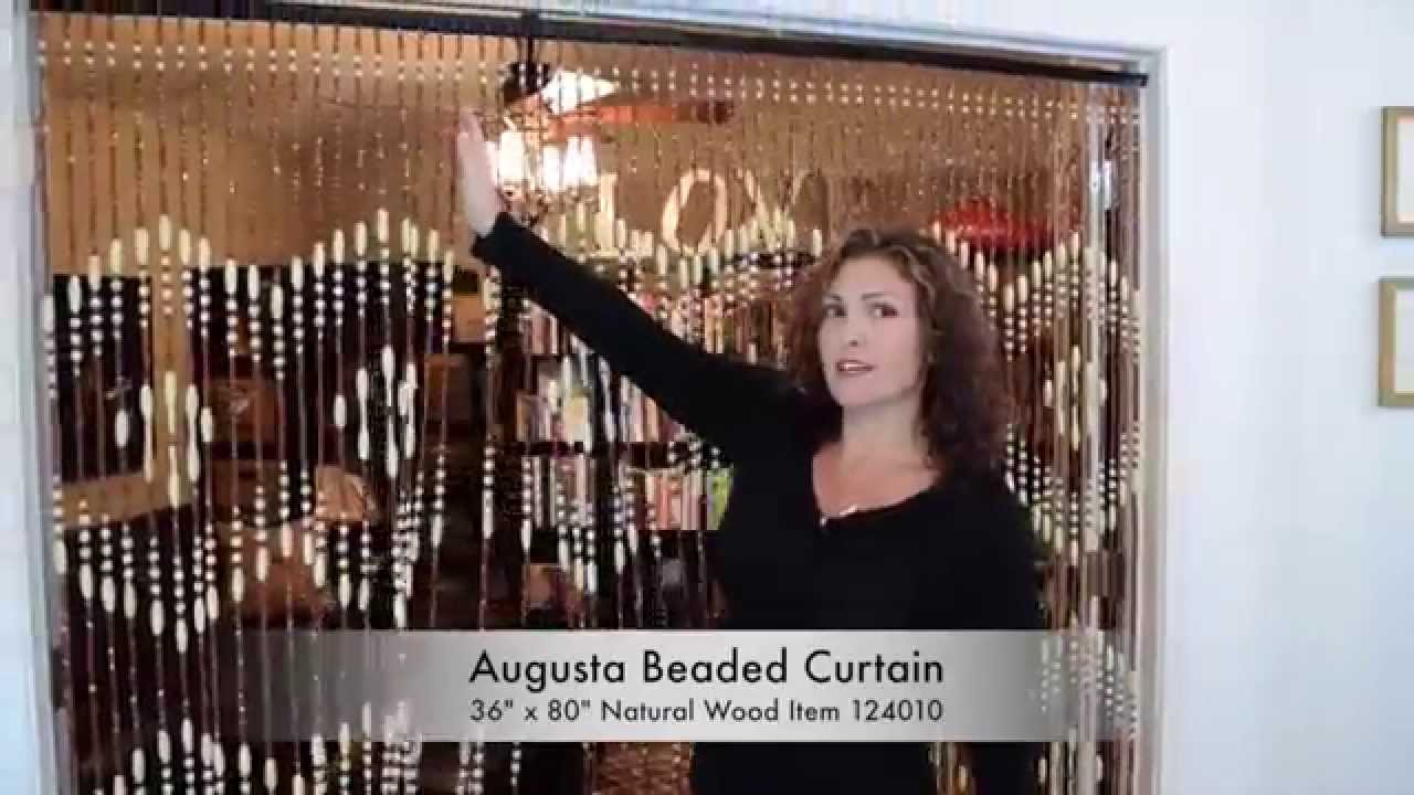 ShopWildThings   How To Hang Wood Beaded Curtains Next To Each Other    YouTube