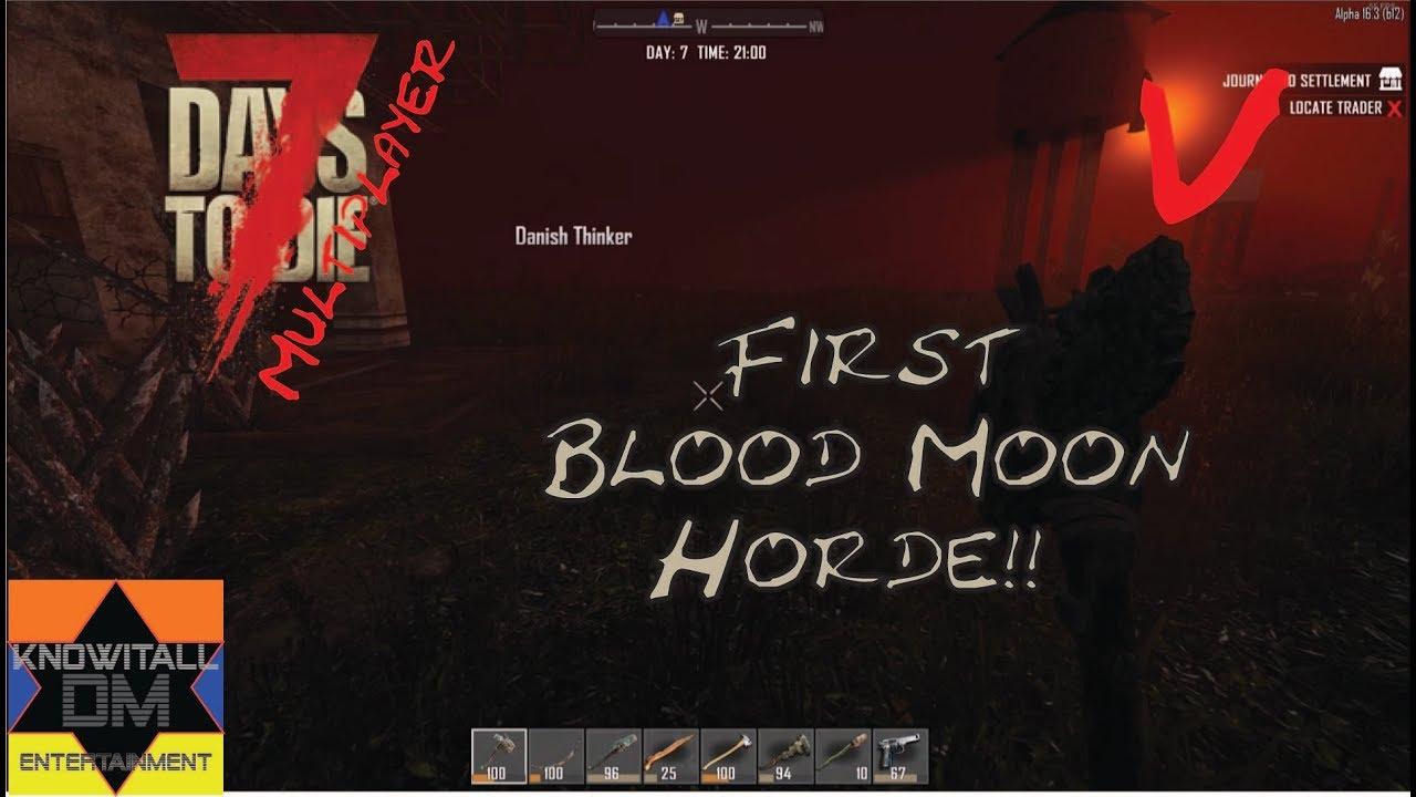 7 Days To Die Blood Moon