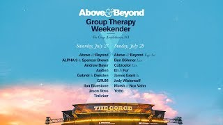 Above & Beyond: Group Therapy Weekender Lineup Announcement!