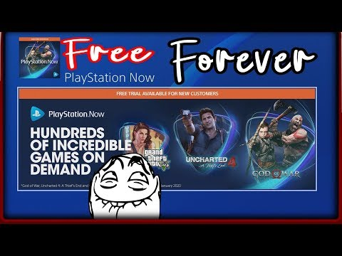 How To Get PS Now Games For FREE With Unlimited PS Now Subscriptions/Trials Updated For 2019 - 2020