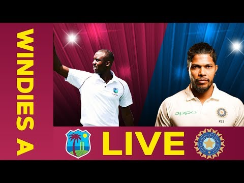 🔴LIVE West Indies A Vs India A   Day 1   Third Test