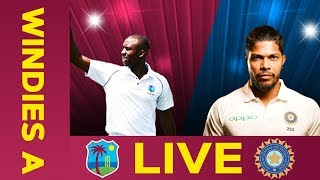 🔴LIVE West Indies A vs India A | Day 1 | Third Test